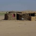 Behausung in der nubischen Wüste