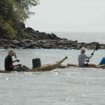 50 km paddeln auf dem Lake Tana