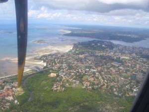 Dar Es Salaam von oben