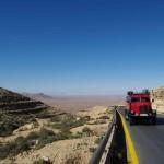 Ausblick vom Jabel Nafusah kurz vor Yfren