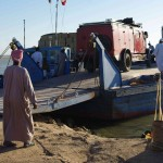 Entladung in Wadi Halfa