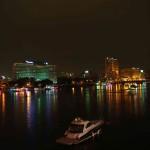 Kairo kann auch romantisch sein, abends am Nil