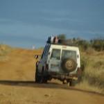 auf dem Weg zum Mount Kenia