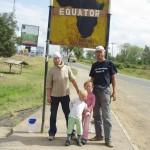 Aequator erreicht